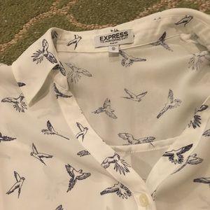 Express The Portofino Shirt in XS Slim Fit.
